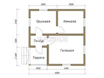 Каркасный дом КД-18
