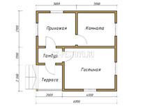 Дом из бруса Дмитрий