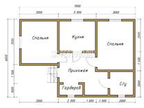 Дом из бруса Егор