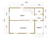 Дом из бруса Евгений