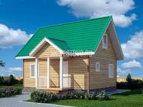 Дом из бруса Георгий