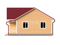 Каркасный дом КД-63