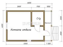 Каркасный дом КД-6