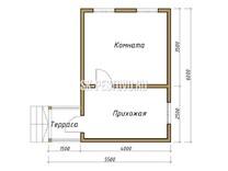Каркасный дом КД-8