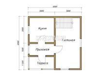 Каркасный дом КД-26