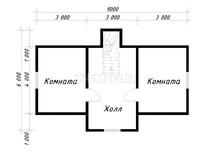 Дом из бруса Никодим