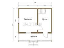 Каркасный дом КД-22