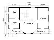 Дом из бруса Платон