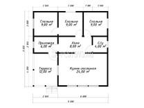 Каркасный дом КД-72