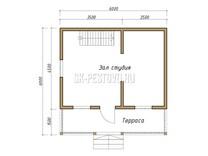 Каркасный дом КД-21