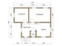 Каркасный дом КД-23