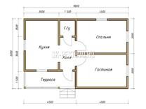 Каркасный дом КД-27