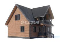 Каркасный дом КД-57