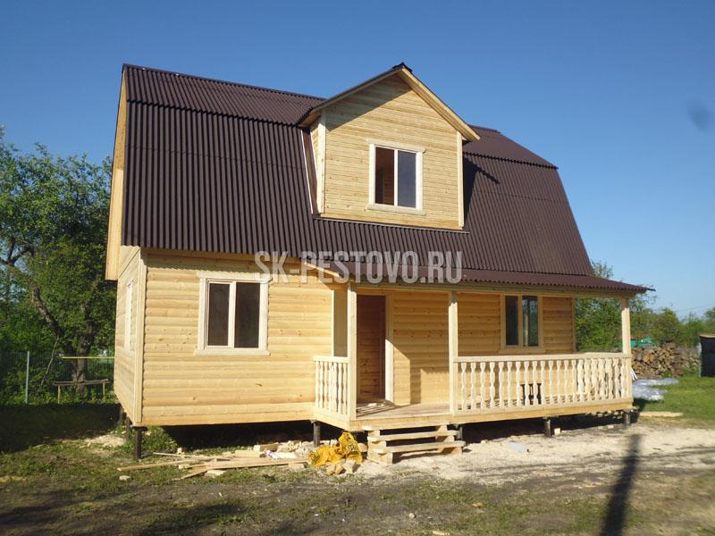 Дом построить из бруса 84